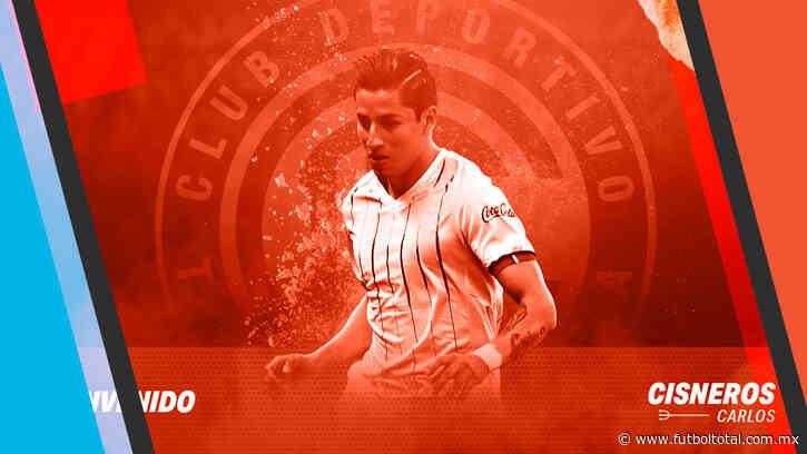 Toluca oficializa la llegada de Carlos Cisneros