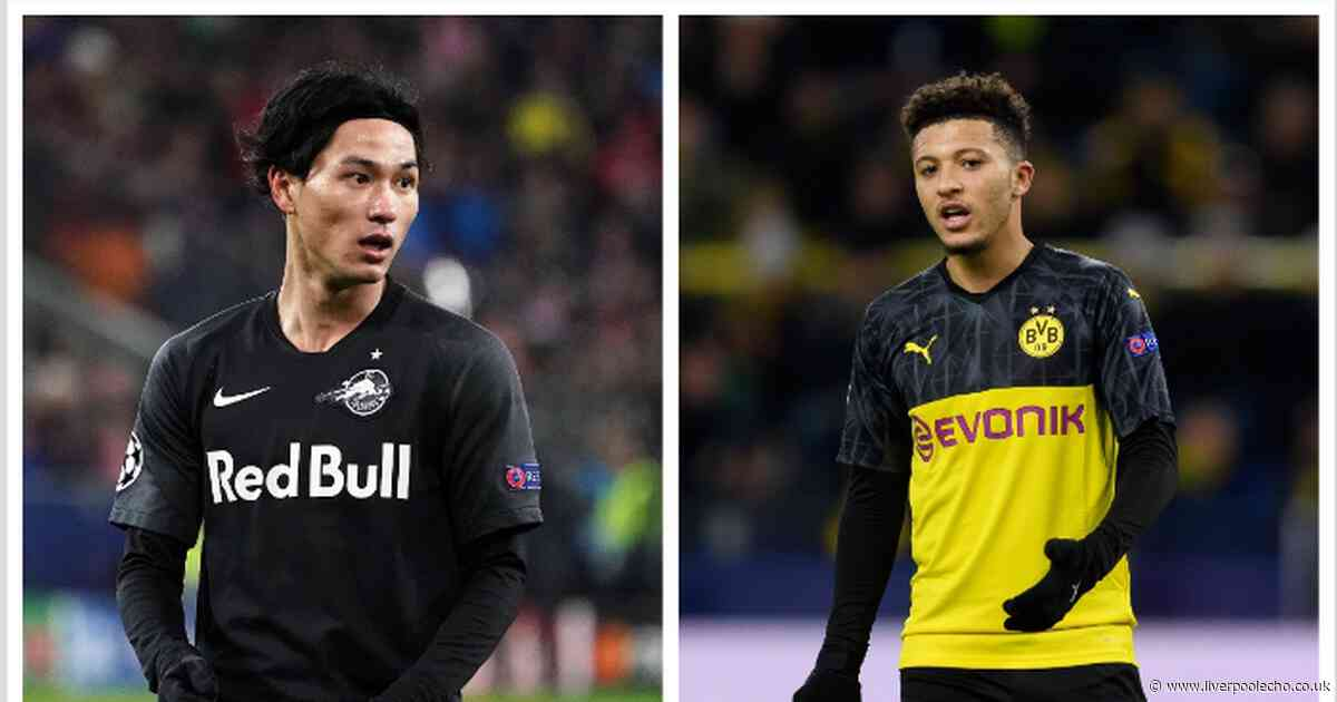 Takumi Minamino is Liverpool's perfect 'alternative' to Jadon Sancho