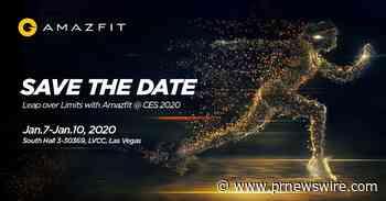Huami Amazfit bestätigt weltweite Produktlancierung auf der CES 2020, um Produktkategorien neben Smartwatch auszubauen