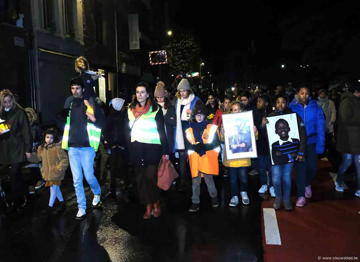 """1.500 mensen herdenken Celio (11): """"Hij had niet mogen sterven, zeker niet op deze plaats"""""""