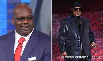 Shaquille O'Neal jokingly suggests Stevie Wonder is not really blind
