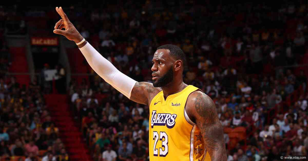 Lakers survive the Heat, end Miami's home streak