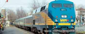 Les trains de VIA Rail en retard une fois sur trois
