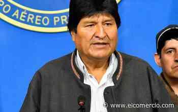 Los días de Evo Morales en Argentina vendiendo helados