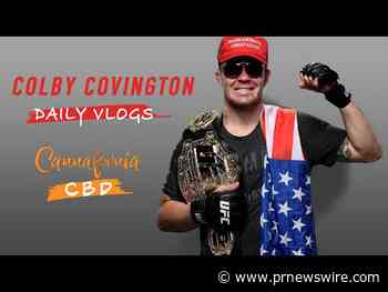 Colby Covington And Cannafornia CBD Release Vlog Ahead Of UFC 245