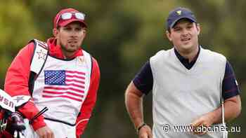 Patrick Reed's caddy admits to 'shoving' spectator at Presidents Cup