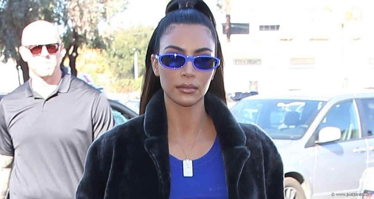 Kim Kardashian Meets Up With Jonathan Cheban For Lunch!