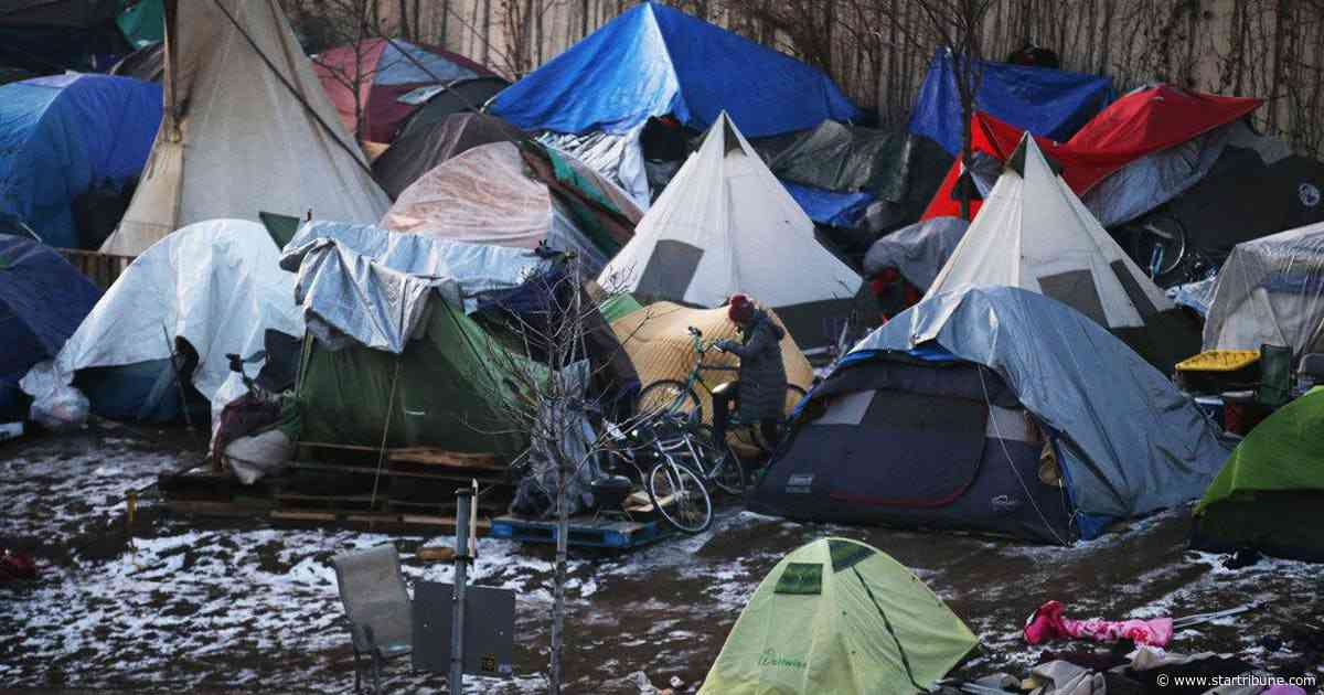 Indian activists protest at site of former Minneapolis homeless camp