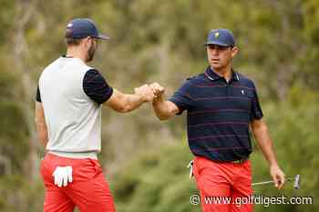 Presidents Cup 2019: The Americans claw their way back into contention, trail by two