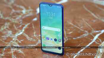Realme 3 Pro, Realme U1, Realme 1 Update Brings New Dark Mode Toggle, December 2019 Android Security Patch