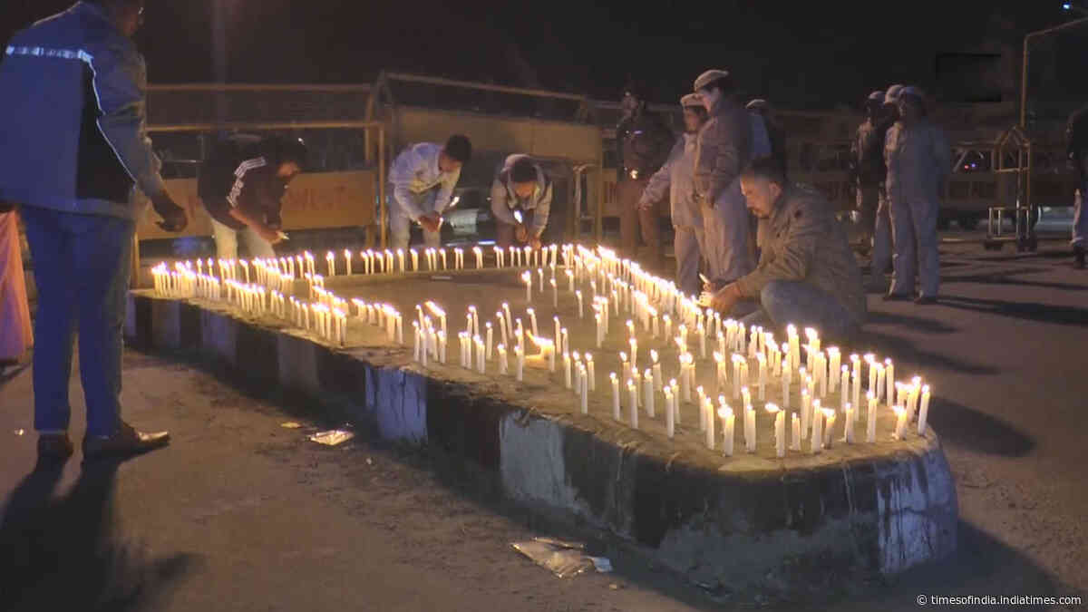 MANPAC holds candle light vigil in wake of CAB protests in Imphal