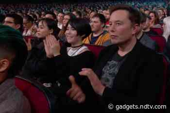 Elon Musk Appears at The Game Awards to Support His Girlfriend