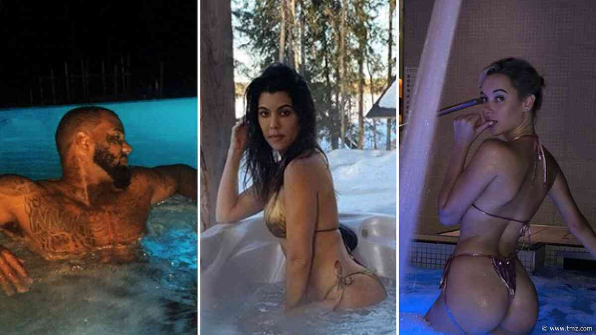 Steamy Stars In Hot Tubs ... Turn Up The Heat!