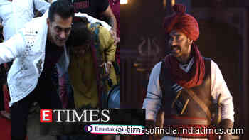 Salman Khan hugs female fan during promotions of 'Dabangg 3'; Petition filed against 'Tanhaji: The Unsung Warrior' in Delhi high court, and more...