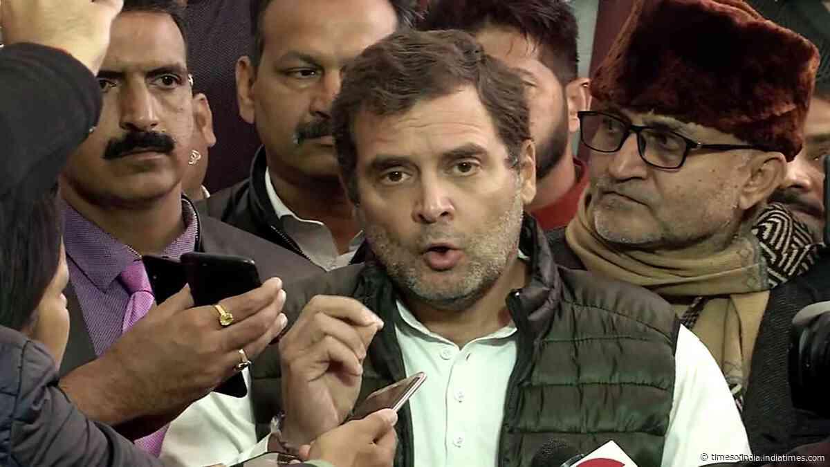 'My name is not Rahul Savarkar; will never apologise': Rahul Gandhi
