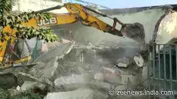 MP honey-trap: Indore Municipal Corporation demolishes Jitu Soni`s brother`s properties