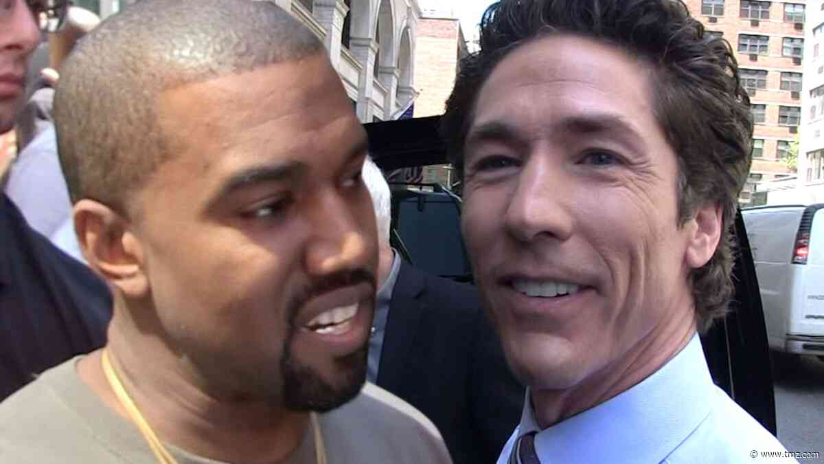Kanye West & Joel Osteen Talking Religious Road Show