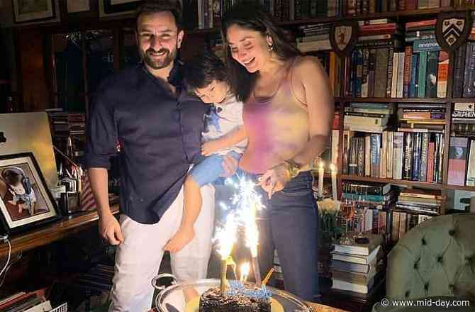 Kareena Kapoor Khan spills the beans on how they plan to celebrate Taimur Ali Khan's 3rd birthday