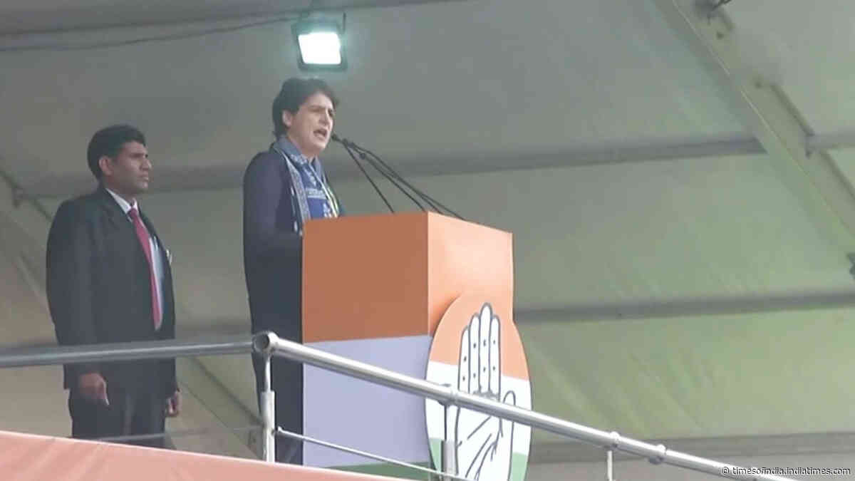 Constitution will be destroyed if we don't raise our voice: Priyanka Gandhi