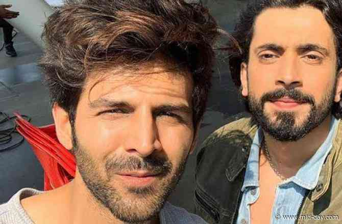 Does Kartik Aaryan have a cameo in Sunny Singh's upcoming film, Jai Mummy Di?