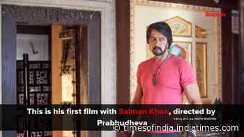Sudeep talks about Dabangg3