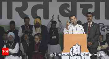 PM Modi has destroyed economy, should apologise to people: Rahul Gandhi