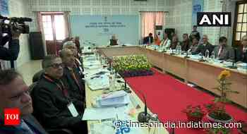 PM chairs meeting of Ganga council in Kanpur