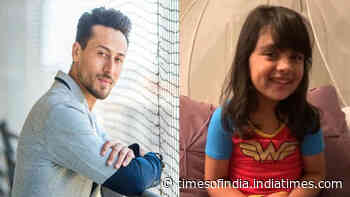 Tiger Shroff's little fan says 'I love you', the actor's response is winning the internet