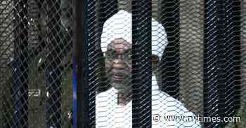 Sudan's Ousted Leader Is Sentenced to Two Years