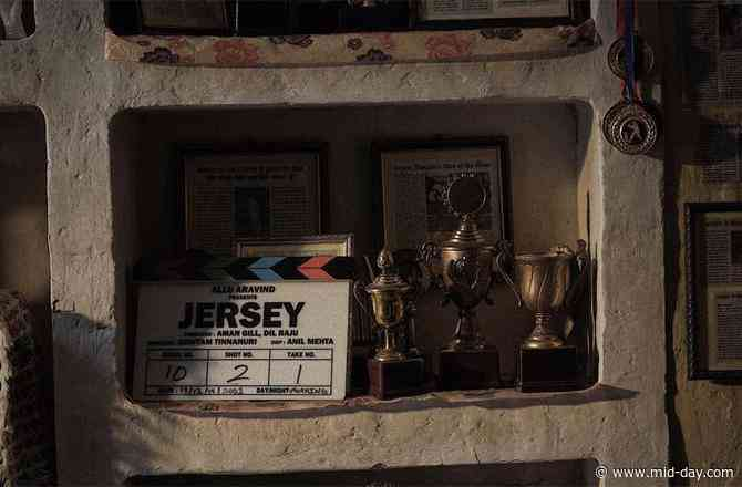Jersey: Shahid Kapoor begins shooting for the film with an inspirational quote