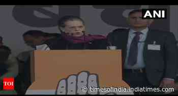 Citizenship Act will rip apart soul of India: Sonia Gandhi