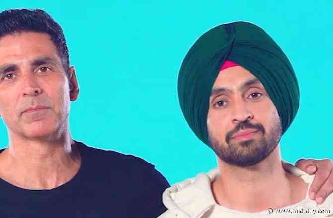 Ever thought men would go through labour pain? Akshay Kumar and Diljit Dosanjh give you a glimpse