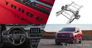 2021 Chevy Tahoe and Suburban, Tesla keeps on Cybertruckin' and more: Roadshow's week in review     - Roadshow