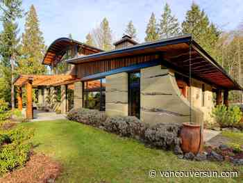Sold (Bought): Bowen Island home showcases 'rammed earth' construction