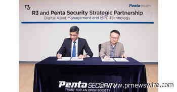 Penta Security en R3 maken strategisch partnerschap voor digital asset management en MPC-technologie bekend