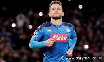 Manchester United 'enter race for Napoli star Dries Mertens with his contract up in the summer'