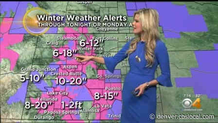 Denver Weather: Heavy Snow Continues For Mountains