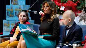 ... but cyberbullying crusader Melania Trump is silent on her husband's mocking of 16-year-old Thunberg