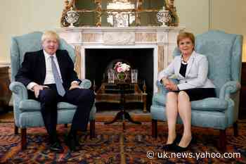 Johnson must accept another Scottish independence vote - Sturgeon