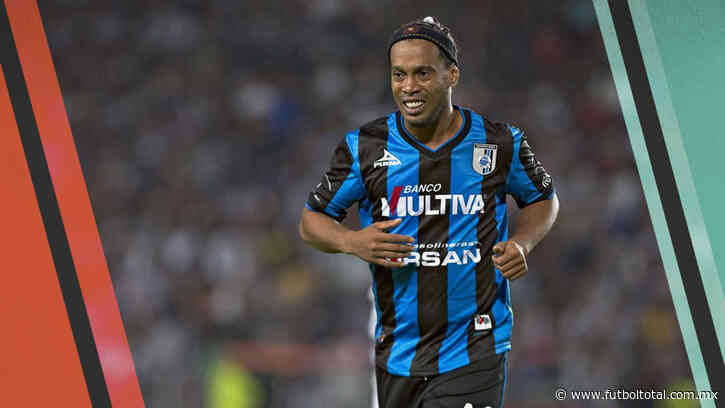 ¿Cuánto dinero ganó Ronaldinho en Querétaro?