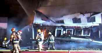 Quebec police investigate two pizzeria fires set off 20 minutes apart