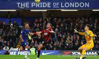 Chelsea 0-1 Bournemouth: Blues slump to a fourth defeat in five games