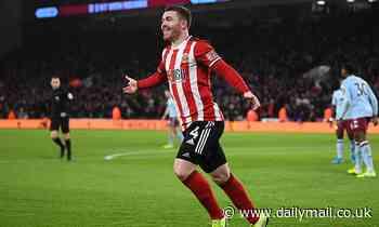 Sheffield United 2-0 Aston Villa: John Fleck nets double to down struggling visitors