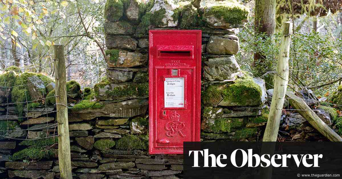 Post boxes of the Lake District - in pictures