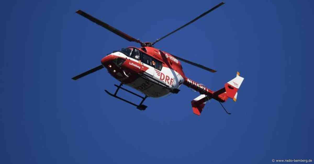 Unfall in Forchheim – Rettungshubschrauber bringt schwer verletzten Fahrer ins Klinikum