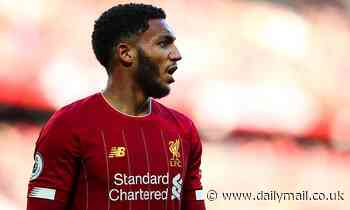 Joe Gomez is back in the Liverpool side and is set to grab his chance