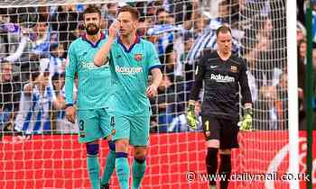Real Sociedad 2-2 Barcelona: Valverde's men stumble despite goals from Griezmann and Suarez