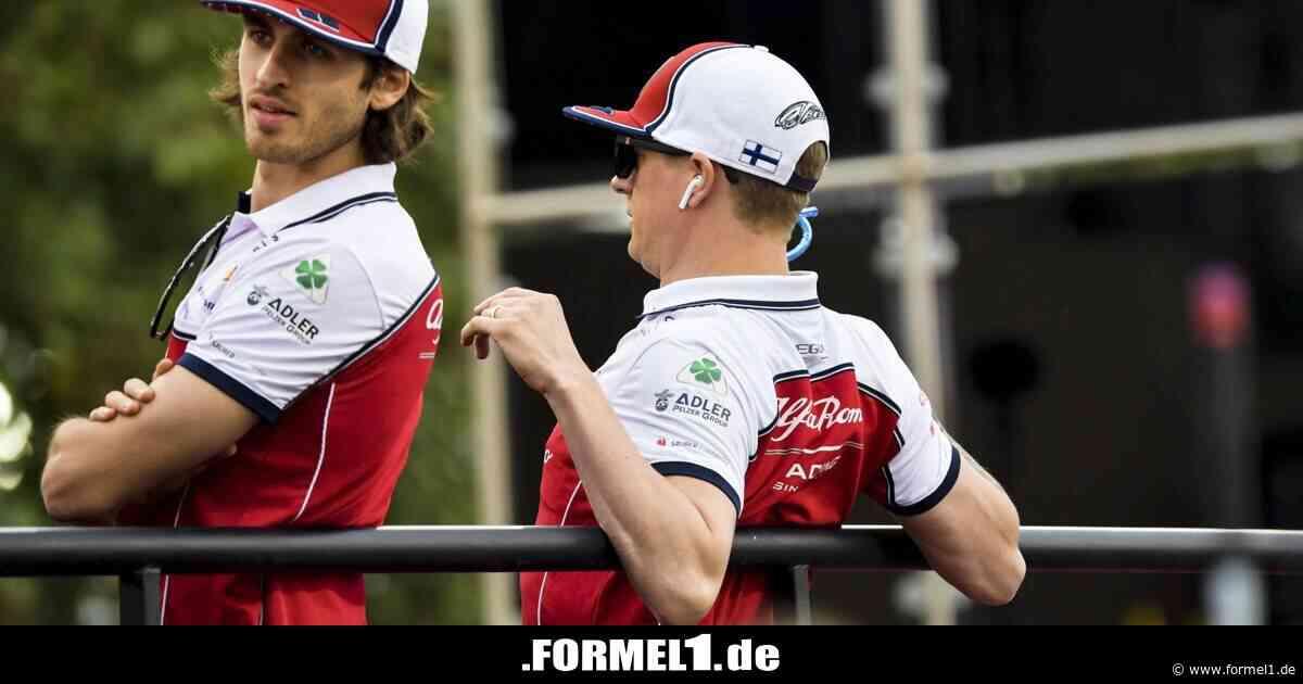 Highlights des Tages: Kimi im Kostüm! Verrückte Zirkus-Party bei Alfa Romeo