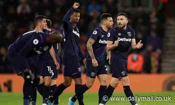 Southampton 0-1 West Ham: Hammers find form against struggling Saints