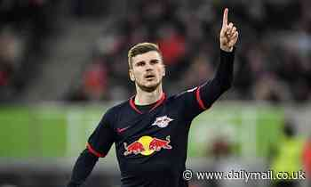 Dusseldorf 0-3 RB Leipzig: Werner strikes to send Leipzig top of the Bundesliga